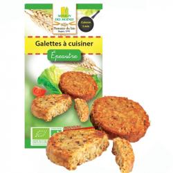 Naturaline - Galette à Cuisiner à l'Épeautre Bio 200 g