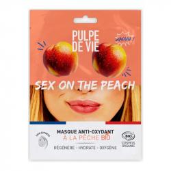 """Pulpe de Vie - Anti-Oxidant Peach Mask """"Sex On The Peach"""" BIO 20ml"""