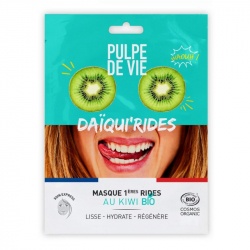 "Pulpe De Vie - Masque Coton Anti-âge ""Daiqui'rides"" BIO 20ml"