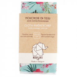 Koshi - Ecologische zakdoek - Paradijsbloemen