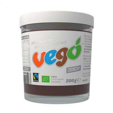 VEGO - Pâte à tartiner Chocolat Noisettes 200g