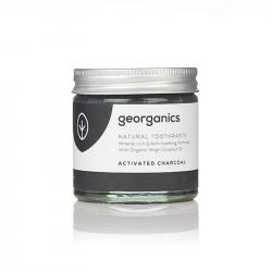 Georganics - Dentifrice reminéralisant au charbon actif et menthe 60ml