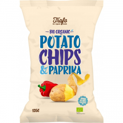 Trafo Classic chips paprika 125g