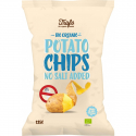 No Salt Added Potato Chips Organic 125g