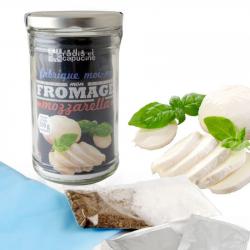 Radis & Capucine - Glazen pot 1L Dhz Mozzarella Bio