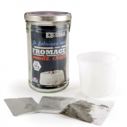 Radis & Capucine - Bocal DIY Fromage Chèvre Bio
