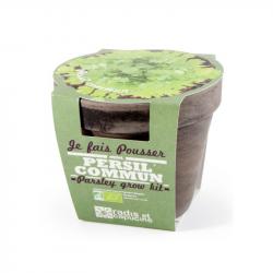 Radis & Capucine - Pot terrecota basalt 13 cm bio peterselie