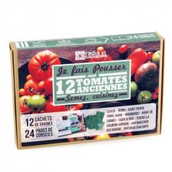 Radis & Capucine - Doos met 12 granen oude tomaten