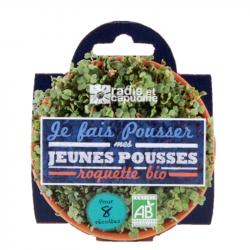Radis & Capucine - Coupelle jeunes pousses Roquette bio