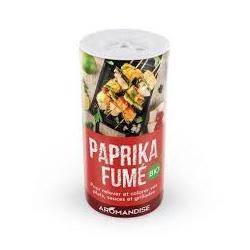 Aromandise - Paprika Fumé en Tube Bio 60g